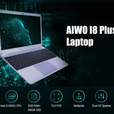 $299 with coupon for AIWO I8 Plus 15.6 inch Laptop from GEARBEST