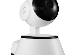 $16 with coupon for ALFAWISE X9100 Mini WiFi 720P Smart IP Camera Home Security System  –  WHITE from GearBest