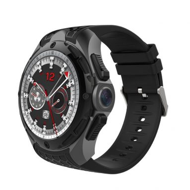 €105 with coupon for ALLCALL W2 3G IP68 Waterproof Weather Heart Rate 2G+16G WIFI GPS Android7.0 Smart Watch Phone – Black from BANGGOOD