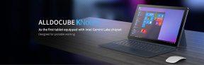 199 s kupónem pro Alldocube KNote 5 128GB SSD Intel Gemini jezero N4000 11.6 Inch Windows 10 Tablet s klávesnicí (ZDARMA GIFT myš + hub) od BANGGOOD