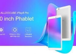 69 avec coupon pour ALLDOCUBE iPlay8 Pro 8.0 pouce 3G Phablet - Silver EU Plug de GEARBEST