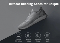 $57 with coupon for AMAZFIT Outdoor Anti-slip Running Athletic Shoes for Couple from Xiaomi Youpin from GearBest