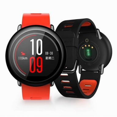 €65 with coupon for AMAZFIT Xiaomi IP67 Waterproof Zirconia Ceramics Bluetooth GPS Heart Rate Monitor Watch(English Version) – Black from BANGGOOD