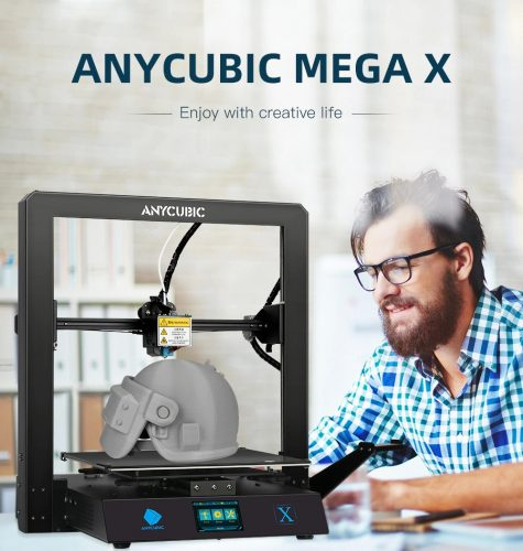 298 With Coupon For Anycubic 2020 New Facesheild Mega X 3d Printer Full Metal 3d Printer Tft Touch Screen High Precision Eu Germany Warehouse From Gearbest China Secret Shopping Deals And Coupons