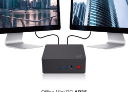€125 with coupon for AP35 Intel Apollo Lake J3355 Office Mini PC – BLACK EU PLUG from GearBest