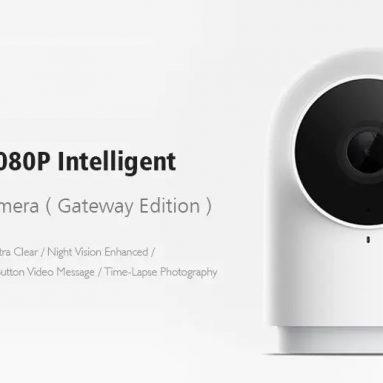 $ 26 với phiếu giảm giá cho Xiaomi Mijia Aqara G2 với chức năng cổng Camera Camera thông minh WIFI 1080P Tương thích với ứng dụng Mi Home từ BANGGOOD