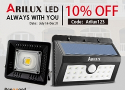 10% OFF for Arilux LED & Lightings from BANGGOOD TECHNOLOGY CO., LIMITED
