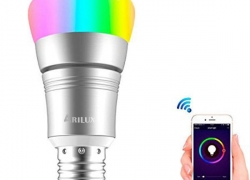 €7 with coupon for ARILUX® E27 7W RGBW WIFI Timing APP Control LED Smart Light Bulb Work With Amazon Alexa AC85-265V from BANGGOOD