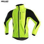 € 22 dengan kupon untuk ARSUXEO Jaket Hangat Musim Dingin Bersepeda Pakaian Kerah Tinggi Bulu Polar Pria Lengan Panjang Sepeda Setelan Mantel Kasual Luar Ruangan dari BANGGOOD