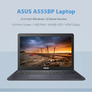 $439 with coupon for ASUS A555BP Laptop from GEARBEST