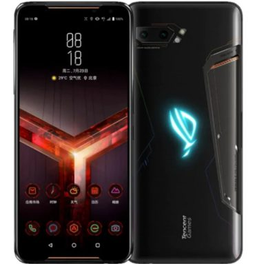 € 1121 med kupon til ASUS ROG-telefon 2 6.59 Inch FHD + 6000mAh Android 9.0 NFC 48MP + 13MP Bagkamera 12GB RAM 512GB ROM USF 3.0 Snapdragon 855 Plus Octa Core 2.96GHz 4GG Smartphone Smartphone B-version