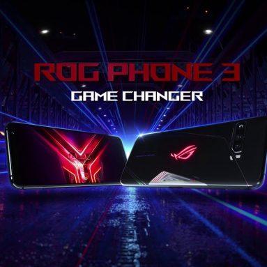 € 498 kèm phiếu giảm giá cho ASUS ROG Phone 3 ZS661KS Strix Edition Global Rom 6.59 inch FHD + 144Hz Tốc độ làm mới NFC Android 10 6000mAh 12GB 128GB Snapdragon 865 5G Điện thoại thông minh chơi game từ BANGGOOD