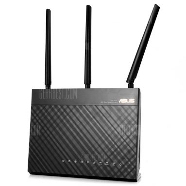 $124 with coupon for ASUS RT-AC68U Wireless Router  –  BLACK from GearBest