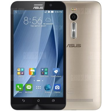 $171 with coupon for ASUS ZenFone 2 (ZE551ML) 64GB 4G LTE Phablet  –  CHAMPAGNE from GearBest