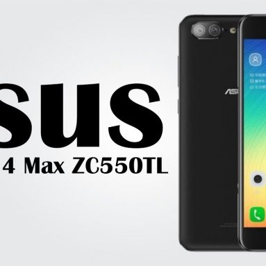 €78 with coupon for ASUS ZenFone 4 Max 3GB RAM 32GB ROM 4G Smartphone from BANGGOOD