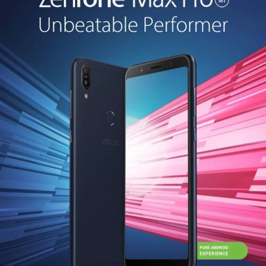 €193 with coupon for ASUS ZenFone Max Pro ( M1 ) 6GB RAM 64GB ROM 4G Phablet Global Version – BLACK from GearBest