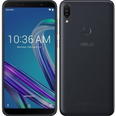 €96 with coupon for ASUS ZenFone Max Pro M1 ZB602KL Global Version 6.0 Inch FHD+ 5000mAh 4GB 64GB Snapdragon 636 Octa Core 4G Smartphone – Black from BANGGOOD