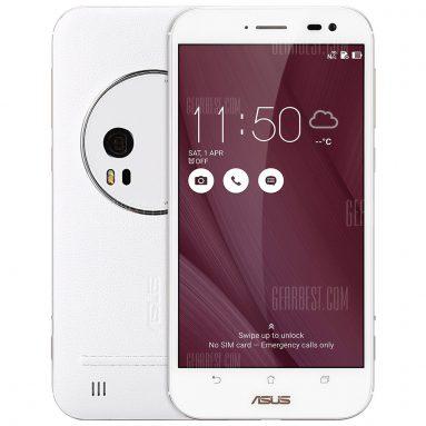 $ 169 với phiếu giảm giá cho ASUS ZenFone Zoom ZX551ML 4G Phablet - 4GB RAM 64GB ROM TRẮNG từ GearBest