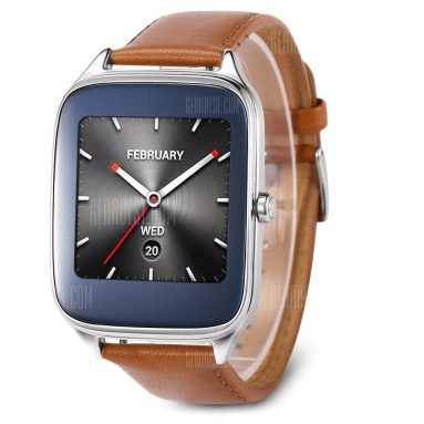 $106 with coupon for ASUS ZenWatch 2 ( WI501Q ) Smartwatch  –  CAMEL from GearBest