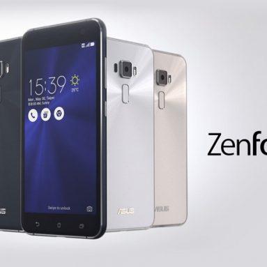 € 90 s kupónom pre ASUS Zenfone 3 ZE552KL Globálny Rom 5.5 palcový FHD 3000mAh 16MP + 8MP Kamery 4GB RAM 64GB ROM Snapdragon 625GB Smartphone - čierny od BANGGOOD