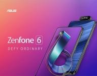 € 474 z kuponem dla ASUS ZenFone 6 Global Version 6.4 Inch FHD + Full Screen NFC5000mAh 48MP + 13MP Flip 6GB 128GB Snapdragon 855 4G Smartphone od BANGGOOD