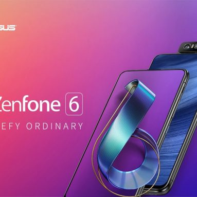 $579 with coupon for ASUS Zenfone 6 6.4 inch 6GB + 128GB Full-screen Global Version Smartphone from GEARBEST