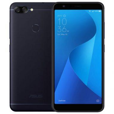 € 105 với phiếu giảm giá cho ASUS Zenfone Max Plus ZB570TL Phiên bản toàn cầu 5.7 Inch 4130mAh 3GB RAM 32GB ROM MT6750T 4G Smartphone - Đen từ BANGGOOD