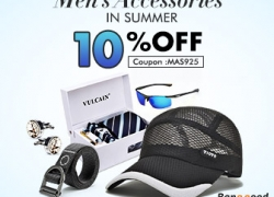 10% OFF for Men Accessories from BANGGOOD TECHNOLOGY CO., LIMITED