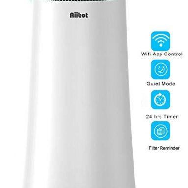 239 € s kuponom za Aiibot A500 Pročiščivač zraka 4-fazni filter s LED dodirnim zaslonom i senzorom za kvalitetu zraka iz EU skladišta GEEKMAXI