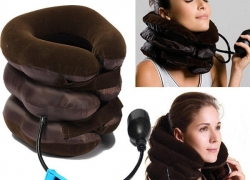 €5 with coupon for Air Cushion Neck Cervical Traction Shoulder Support Brace Pillow from BANGGOOD