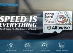 Alfa 27GB UHS için 256 3 - 256 XC Yüksek Hızlı Yüksek Kapasiteli Micro SD Kart - ÇOK HAFİF SKY MAVİ XNUMXGB GearBest'ten