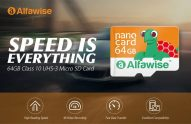 $8 with coupon for Alfawise 64GB UHS-3 High Speed Micro SD Card – SAFFRON 64GB from GearBest