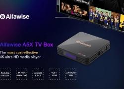$ 44 med kupon til Alfawise A5X TV Box fra GEARBEST