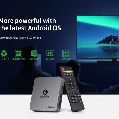 €23 with coupon for Alfawise A8 NEO TV Box Android 9.0 – Gray EU Plug from GEARBEST