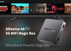 €15 with coupon for Alfawise A8 Pro 5G Wifi Magic TV Box – BLACK EU PLUG from GearBest