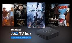 Alfawise A34X Android 8 9.0Dテレビボックス -  GearBestからのブラックEUプラグインのためのクーポン付き$ 3