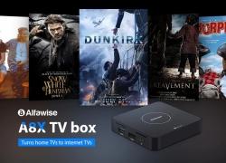 $ 34 s kupónom pre Alfawise A8X Android 9.0 3D TV BOX - čierna EU Plug od GearBest