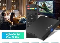 € 28 với phiếu giảm giá cho Hộp TV Alfawise A9 Plus - Đen từ GEARBEST