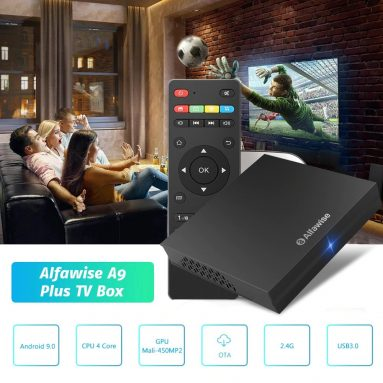 €28 with coupon for Alfawise A9 Plus TV Box – Black from GEARBEST