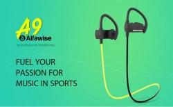 GearBest gelen Alfawise A9 Spor Bluetooth Kulaklıklar kupon ile $ 9