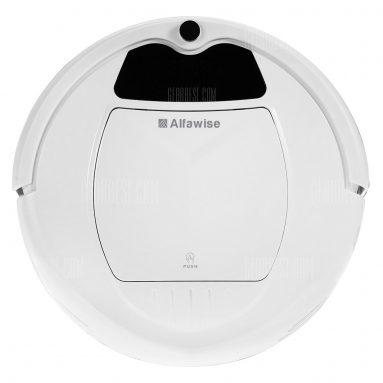 $ 69 với phiếu giảm giá cho Alfawise B3000 Máy hút bụi thông minh Robot - US PLUG WHITE từ GearBest