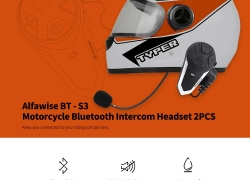 $29 with coupon for Alfawise BT – S3 Motorcycle Bluetooth Intercom Headset from GearBest