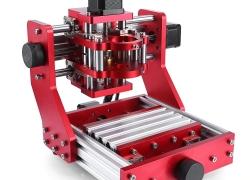 329 avec coupon pour Alfawise C20 1310 + 500mw Machine de gravure CNC tout en métal CNC deux en un - Argent EU de GEARBEST