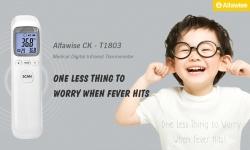 Alfawise CK için kuponlu $ 8 - Gearbest'den T1803 Medikal Dijital Kızılötesi Termometre