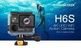 $ 69 с купоном для Alfawise EKEN H6S 2 дюймовый 4K HD WiFi экшн-камера Водонепроницаемая спортивная DV с защитой от сотрясений EIS от GEARBEST