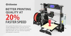 $139 with coupon for Alfawise EX8 3D Printer – BLACK EU plug EU warehouse from GearBest