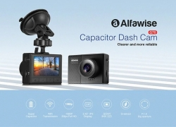 €32 with coupon for Alfawise G70 F1.5 Car DVR Dash Cam from GearBest