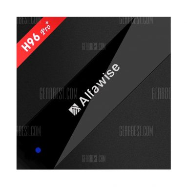 $95 with coupon for Alfawise H96 Pro+ TV Box 3GB RAM + 64GB ROM from GearBest