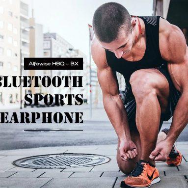 $ 9 sa kupon para sa Alfawise HBQ - BX Bluetooth Sports Earphone HiFi Earbuds - Red mula sa GEARBEST