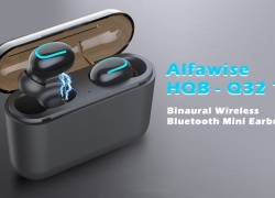 $16 with coupon for Alfawise HQB – Q32 TWS Binaural Wireless Bluetooth Mini Earbuds from GEARBEST